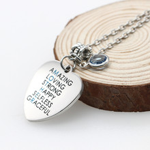 Gift For Mom For Mother's Day or Birthdays - Mother Necklace Spelled Out