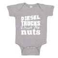 Diesel Trucks Baby Onesie