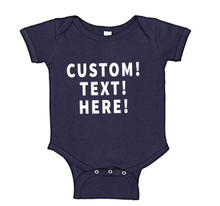 Add Text To The Baby Onesie to Personalize