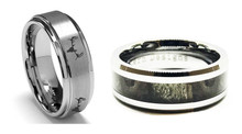 Buy Get One In This Mens gift Set of Rings - Top Selling Hunting Jewelry For Him in One Set