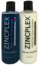 Oily Hair Shampoo and Conditioner Zinc