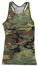 Women's Camo Tank Top For Working Out Gym Tops