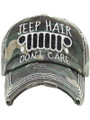Ladies Jeep Hats - Hair Don't Care