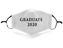 2020 Graduate Face Mask Covering