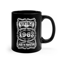 Aged to Perfect Birthday mug for years 1960 1961 1962 1963 1964 1965 1966 1967 1968 1969 1970