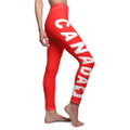 Canada Flag Leggings Women