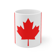 Canada Flag Mug for coffee or tea 11 oz great gift