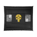 Gadsden Flag Dont Tread on Me Bedding Comforter