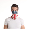 American Flag Neck Gaiter for women and men