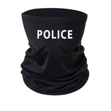 Printed Police Officer Neck Gaiter Coverings