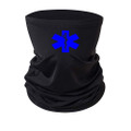 Paramedic EMS Neck Gaiter With Blue Logo