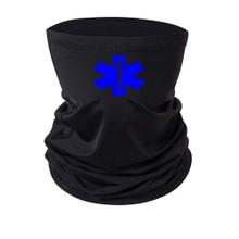 Paramedic EMS Neck Gaiter With Blue Logo