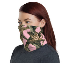 Ladies Pink Camo Neck Gaiter Premium Quality military print