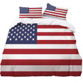 American Flag Bedding Set 3 piece