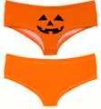 Ladies Pumpkin Boy Short Panty