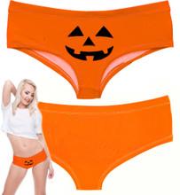 Ladies Pumpkin Panty