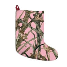 Pink Camo Christmas Stocking