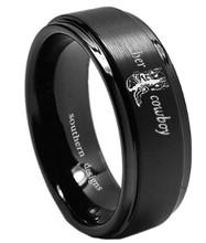 Men's Cowboy Wedding Ring