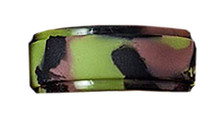 Mens Silicone Camouflage Wedding Ring Army
