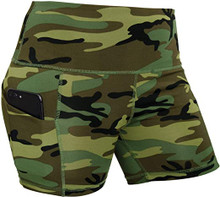 Womens Tight Camouflage Work Out Bottoms