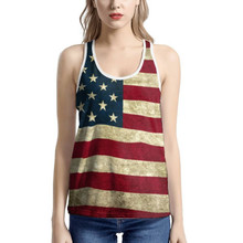 Women's USA Flag Tank Top Limited Edition