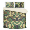 Army Camouflage Bedding Set Twin Queen King Sizes