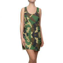 Camouflage Tank Dress in Army Print