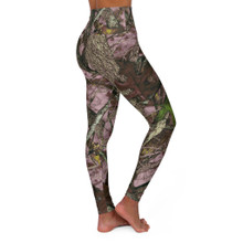 New Pink Rose Camouflage Workout Leggings