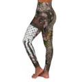 Camouflage American Flag Leggings Women's