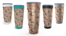 Desert camo tumblers for him and her