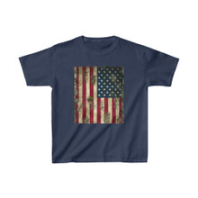 4th of July Camo American Flag Shirt for kids