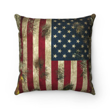 camo american flag throw pillow for couch