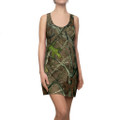 Camo Tank Top Racerback Dress With Outdoors Pattern
