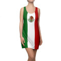 Mexico Flag Flag Racer Back Dress Is Great For Summer Beach