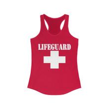 lifeguard racerback tank top