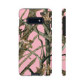 Pink camouflage phone case