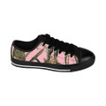 Pink Camouflage Sneakers