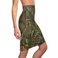 Women's Camouflage Pencil Skirt