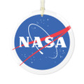 Nasa Christmas Ornament In Glass