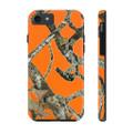 Blaze Orange iPhone Case