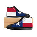 Women's Texas Flag High-top Sneakers