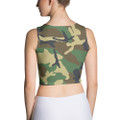 Army Camouflage Crop Top