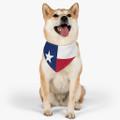 Texas Flag Pet Bandana Collar