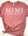 Mimi Shirt With Grand Kids Names Added