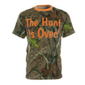 The Hunt Is Over Wedding Shirt For Groom and Bride - Choose Sizes