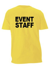 Event Staff Shirts For Sale