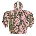 Pink Camo All Over Hoodie Hunting Print