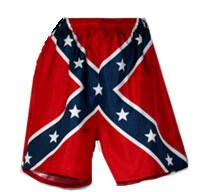 Rebel Flag Swim Trunks Mens