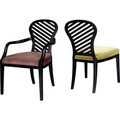 HENREDON FURNITURE CELERIE KIMBALL SET OF BETTINA DINING CHAIRS