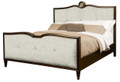 BELLE MEADE SIGNATURE FURNITURE GRAYSON UPHOLSTERED QUEEN BED